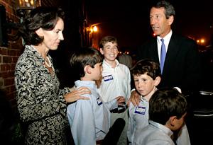 Jenny Sanford and kids