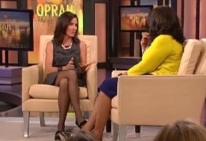 Jenny Sanford and Oprah