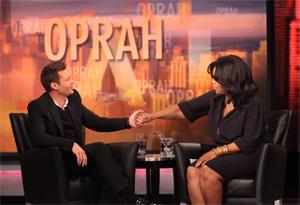 Ryan Seacrest and Oprah