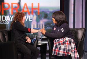 Shaun White and Oprah