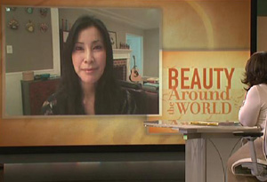 Lisa Ling and Dr. Bai
