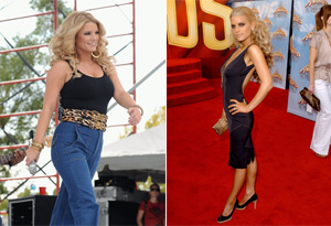 Jessica Simpson talks about weight gain.