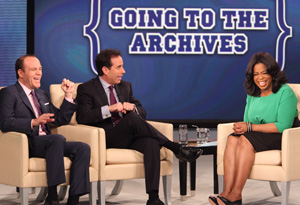 Tom Papa, Jerry Seinfeld and Oprah