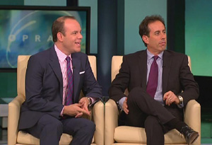Tom Papa and Jerry Seinfeld