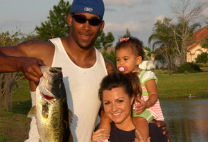 Marquis Cooper and family