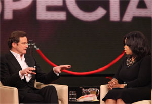 Colin Firth and Oprah