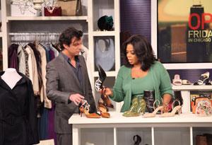 Adam Glassman and Oprah