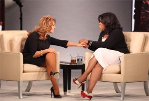 Oprah and Raquel Welch