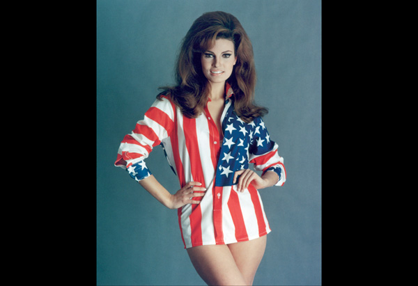 Raquel Welch in the late 1960s