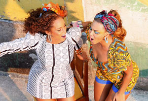 Alicia Keys and Beyonce Knowles