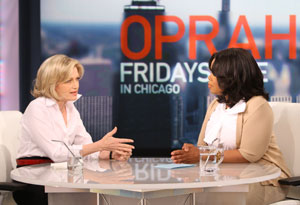 Diane Sawyer and Oprah