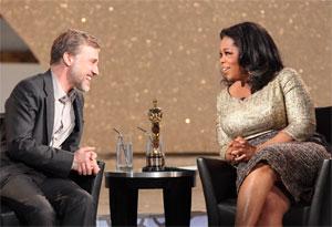 Christoph Waltz and Oprah