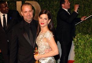 Sandra Bullock and her husband, Jesse James