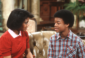 Todd Bridges and Janet Jackson
