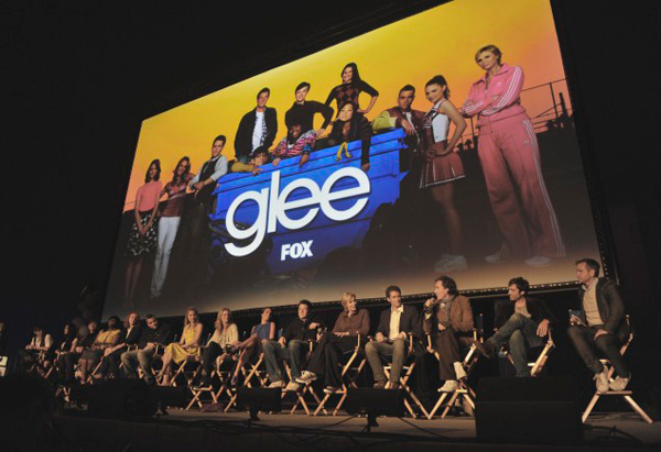 Glee premiere screening