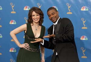 Tracy Morgan and Tina Fey