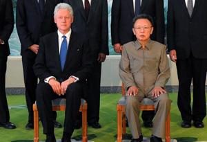 Bill Clinton in Korea