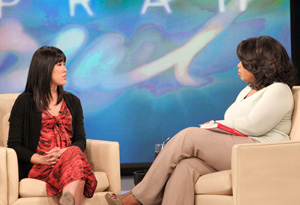 Laura Ling and Oprah