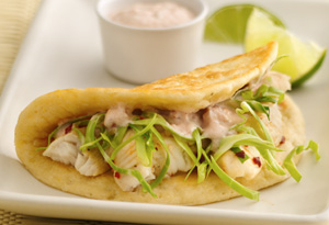 Zesty Lime Fish Tacos
