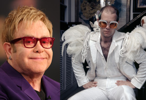 Elton John and Oprah