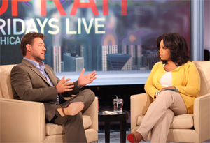 Russell Crowe and Oprah