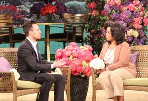 Jeff Leatham and Oprah