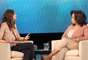 Jenna Lyons and Oprah