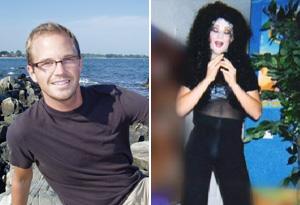 Josh dresses as Cher for fun.