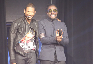 Usher and will.i.am