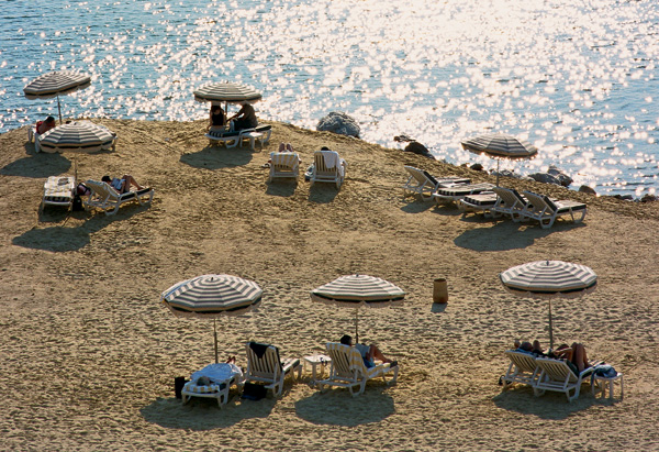 The beaches of Jordan