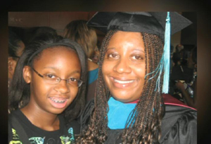 Alycia Allgood and her daughter, Asia