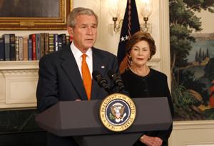 Laura Bush and Oprah