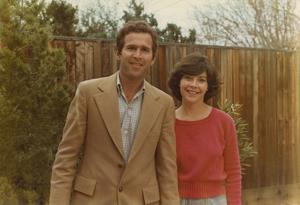 Laura Bush and George Bush