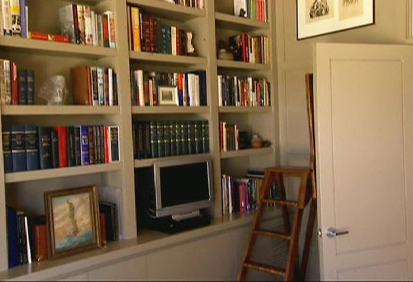 Laura Bush's library