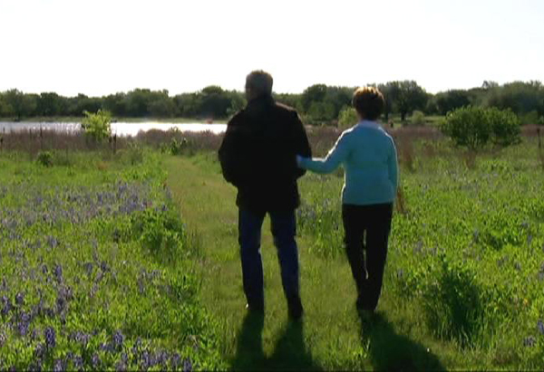 Laura Bush's prairie restoration