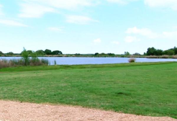 George Bush's man-made lake