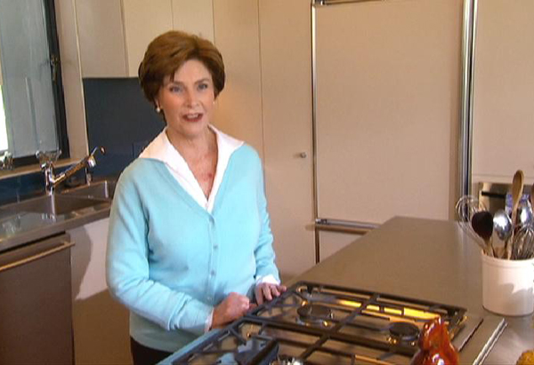 Laura Bush's Kitchen