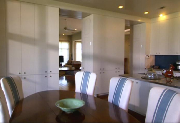 Laura Bush's Organized Kitchen