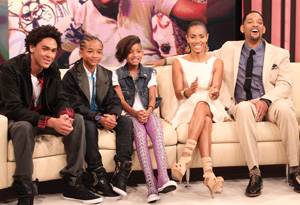 Will Smith, Jada Pinkett Smith and family