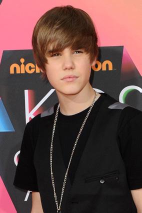Justin Bieber at the Kid's Choice Awards