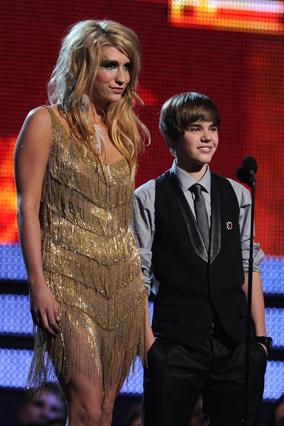 Justin Bieber and Kesha