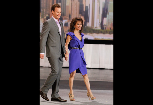 Susan Lucci and Andreas Huber
