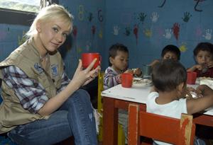 Christina Aguilera in Guatemala