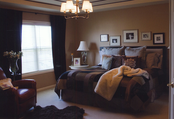 Tracie and Craig's master bedroom