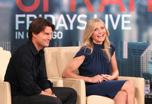 Tom Cruise and Cameron Diaz and Oprah
