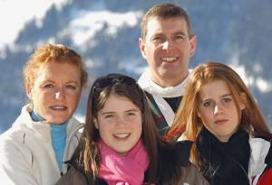 Sarah Ferguson's family
