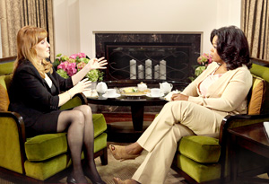 Sarah Ferguson and Oprah in June 2010