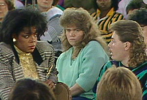 Oprah in Williamson in 1987.