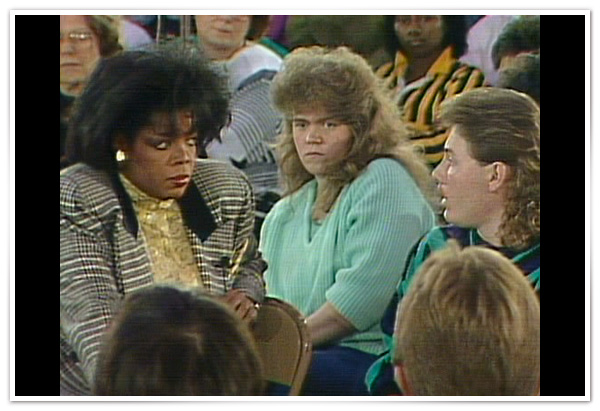 Oprah in West Virginia in 1987