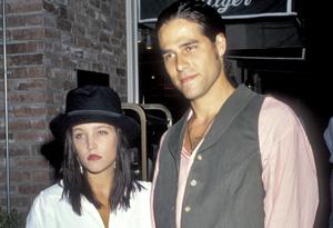 Lisa Marie Presley and ex-husband Danny Keough